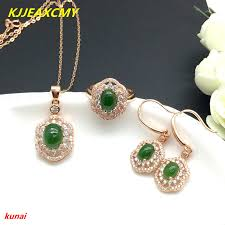 <b>KJJEAXCMY boutique jewels 925</b> silver inlaid natural hetian jade ...