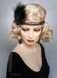 20s Hair Style the roaring 20s was a time of speakeasies burlesque flapper 5697 by wearticles.com