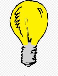 incandescent light bulb animation clip art cartoon light switch