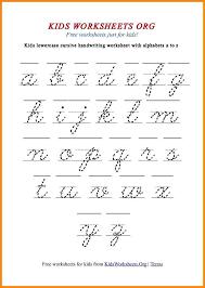 8+ cursive handwriting alphabet | media resumed