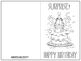 Birthday Printable Coloring Pages Happy Birthday Printable Coloring
