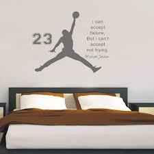 inspiring basketball es vinyl wall sticker removable wall art decals mural kids gift children bedroom home