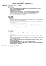 Bakery Clerk Job Description For Resume Diet Clerk Cover Letter Fungramco 70