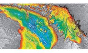 What Do The Colors Denote In A Bathymetric Chart The Study Of Mapping The Seafloor