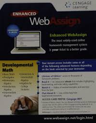 developmental math webassign a webassign amazon developmental math webassign a webassign 9781285857701 com books