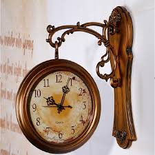 whole wall clock modern design double sided wall clock 3d digital saat large vintage wall clocks reloj relogio de parede digital watch wall clocks for