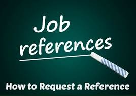 Request Reference Letter Request A Job Reference Letter