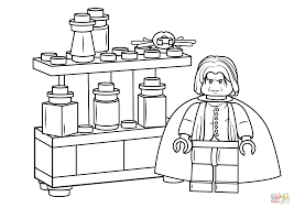 Small Picture Lego Severus Snape coloring page Free Printable Coloring Pages