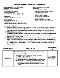 weekly syllabus template blank weekly syllabus lesson plan template tpt