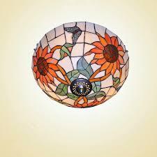 tiffany pendant lights nz. pleasant sunflower 3 lights flush mount ceiling light featuring tiffany glass shade pendant nz l