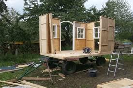 Nach und nach kann man einen ausbau / umhüllung bauen, ohne zeitdruck. Das Mobile Kreativ Lab Hornbach Macher
