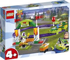 ROZETKA | <b>Конструктор LEGO</b> Juniors <b>Toy</b> Story 4 Аттракцион ...