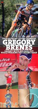 Gregory Brenes Costa Rican Pro Cycling Champion Caught With His.