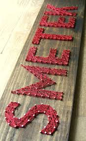 Nine Red: String Art: New Font & Another Giveaway