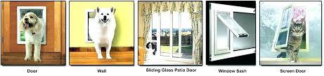pet patio doors door with dog door door with dog door sliding door screen with dog
