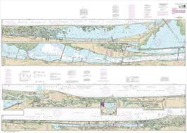 Noaa Chart Intracoastal Waterway Tolomato River To Palm Shores 11485