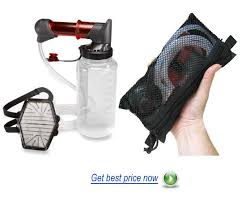 MSR Backpacking Water Filter System Camping and Hiking Water