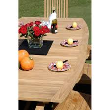 chic teak furniture. Teak West Palm Semi Oval Extension Table - Chic Furniture G
