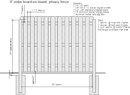 How To Building a Board on a Board Wood Fence Americas Fence Store