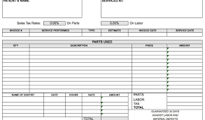 Invoice Template For Microsoft Excel 2007 Templates