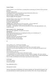 Sample Letter Of Intent Medical School Free Download Affidavit Of No