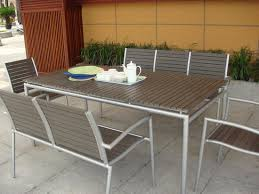 modern outdoor dining furniture.  Furniture Brilliant Modern Patio Dining Furniture Room Great St Tropez Outdoor  Wicker Table And Chairs Throughout I