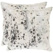 beige decorative pillows. Fine Beige Safavieh Cosmos 22inch White Decorative Pillows Set Of 2 Intended Beige