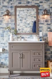 Bathroom vanity design Marble 36 Home Depot Bathroom Vanities The Home Depot