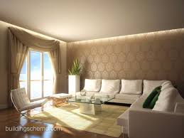 Modern Living Room Wallpaper Romantic Wallpaper Designs For Living Room With Lily Flower