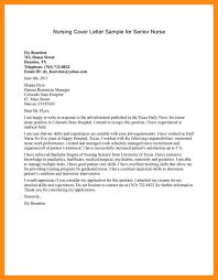 13 Sample Cover Letter For Nursing Student Dtn Info