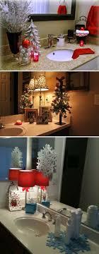 Christmas bathroom decorations ideas 2017