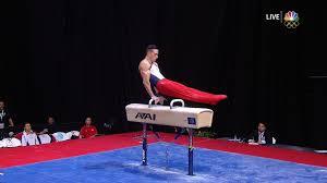 vault gymnastics gif. Pommel Horse Vault Gymnastics Gif