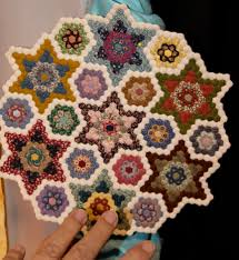 """Florida Cabin Fever Quilters"""" quilting quiltshow quilts """"sewing ... & Carol Henry of Carol's Creations makes amazingly tiny and detailed  miniature quilts. Adamdwight.com"""