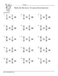 Fractions Common Denominator Worksheets 5th Grade - Free ...Fraction worksheets. Fifth grade least common denominator ...