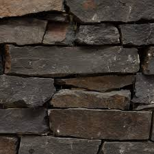 penrith red stacked stone wall cladding