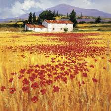 poppies field painting steve thoms poppies field art painting