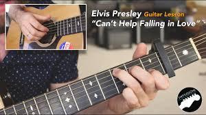 Guitar Lesson Cant Help Falling In Love Elvis Presley Haley Reinhardt