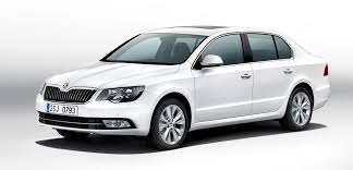 new car launches in early 2014SKODA Superb facelift caught testing in India launch early 2014