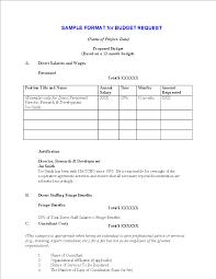 Sample Budget Proposal Free Mentorship Project Sample Budget Proposal Templates At 13