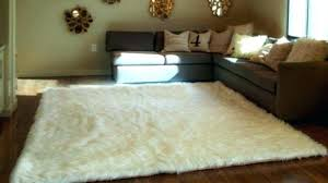 faux fur area rug white faux fur area rug rugs amiable full size of runner incredible