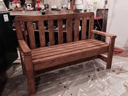 Williams Sonoma Inspired DIY Outdoor Bench  Diycandycom2x4 Outdoor Furniture Plans