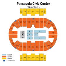 Pensacola Bay Center Seating Chart Lauren Daigle W Johnnyswim Pensacola Tickets Lauren