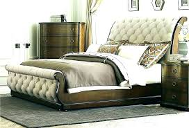 King Bed Tufted Headboard Bedroom Set Fabric Size With Bling Kin