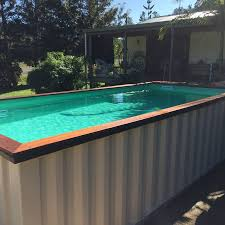 image of diy container pool cost