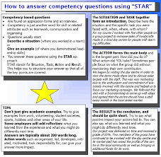 Star Interview Answers Examples Tips On Using The Star Technique To Answer Job Interview Questions