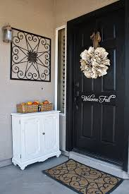front door decorating ideas50 Fall Front Door Dcor Ideas  family holidaynetguide to
