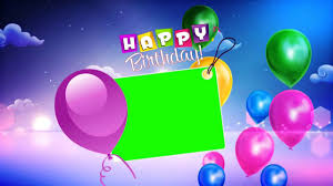Happy Birthday Background Images Happy Birthday Wishes With Green Background Video Youtube