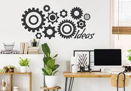 When your office is mostly gray or brown, it will be extremely beneficial to your walls to add some sparkle. 20 Home Office Wall Decor Ideas For A Creative Workspace