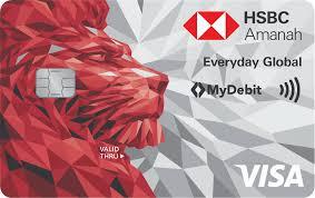 debit card hsbc my amanah