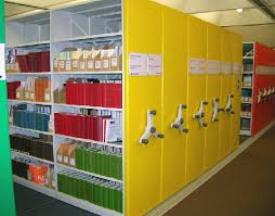 mobile library storage shelving system mobile book shelving systems for libraries high density